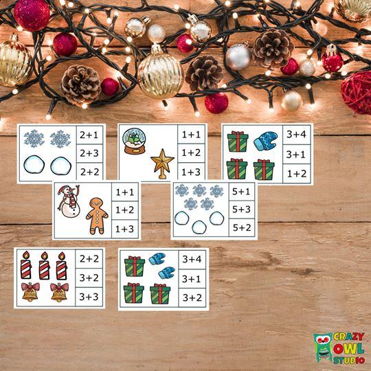 Vánoční kolíčkové sčítání