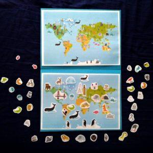 Mapa se zvířaty