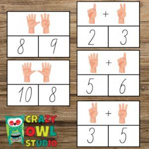Kolíčkohraní Prstová matematika 0-5