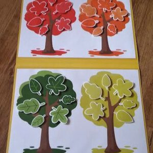 Podzimní stromy – barvy