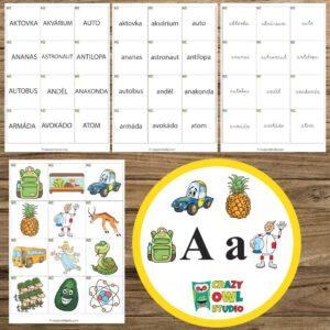 Hrátky s abecedou – písmeno A
