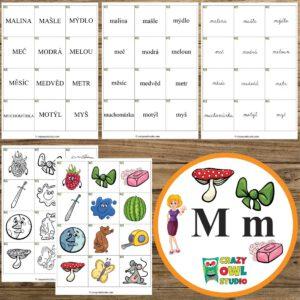 Hrátky s abecedou – písmeno M